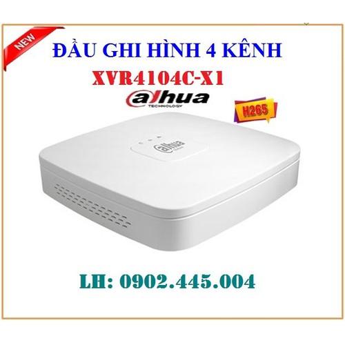 Đầu ghi hình 4 kênh 5 trong 1 Dahua XVR4104C-X1 - 8960844 , 18589308 , 15_18589308 , 1144000 , Dau-ghi-hinh-4-kenh-5-trong-1-Dahua-XVR4104C-X1-15_18589308 , sendo.vn , Đầu ghi hình 4 kênh 5 trong 1 Dahua XVR4104C-X1