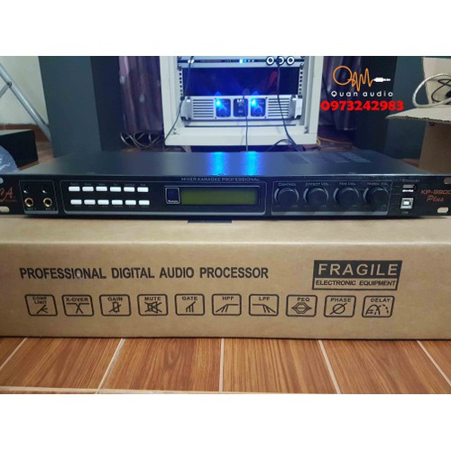 Vang Số CA Sound 9900 Plus Tặng Dây Canon