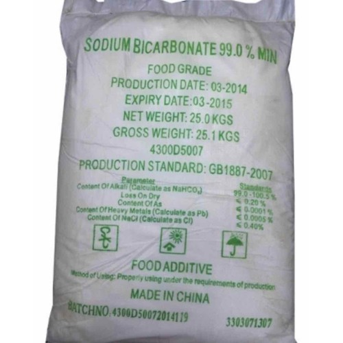 Sodium hydrogen carbonate NaHCO3 natri cacbonat túi 500g