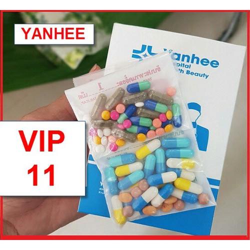Thuốc giảm cân Yanhee VIP 11 [1 tuần] super diet