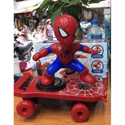 Đồ chơi người nhện trượt ván cho bé xoay 360 độ - 7766365 , 18589516 , 15_18589516 , 199000 , Do-choi-nguoi-nhen-truot-van-cho-be-xoay-360-do-15_18589516 , sendo.vn , Đồ chơi người nhện trượt ván cho bé xoay 360 độ