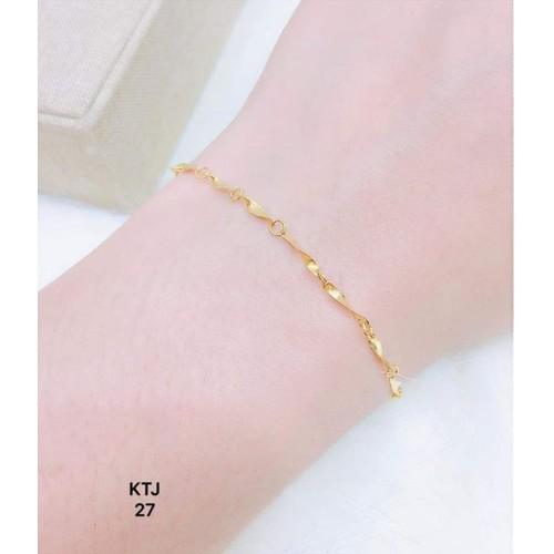 Lắc tay vàng tây nhỏ nhỏ xinh xinh - có giấy đảm bảo vàng - 8958134 , 18585385 , 15_18585385 , 750000 , Lac-tay-vang-tay-nho-nho-xinh-xinh-co-giay-dam-bao-vang-15_18585385 , sendo.vn , Lắc tay vàng tây nhỏ nhỏ xinh xinh - có giấy đảm bảo vàng