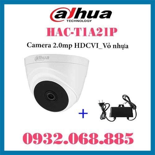 Camera Dahua HAC-T1A21P HDCVI 2.0mp - 8962325 , 18591852 , 15_18591852 , 360000 , Camera-Dahua-HAC-T1A21P-HDCVI-2.0mp-15_18591852 , sendo.vn , Camera Dahua HAC-T1A21P HDCVI 2.0mp