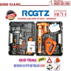 ROGTZ - Thương hiệu đến từ Đức Bộ kích và mở lốp 2 trong 1 chạy điện 12v - Con Đội Kích Lốp Nâng Gầm Xe Bằng Điện 12 Vol - Bộ kích gầm ô tô 12V 2 trong 1- Con Đội Điện Nâng Gầm xe hơi - Máy bắn ốc