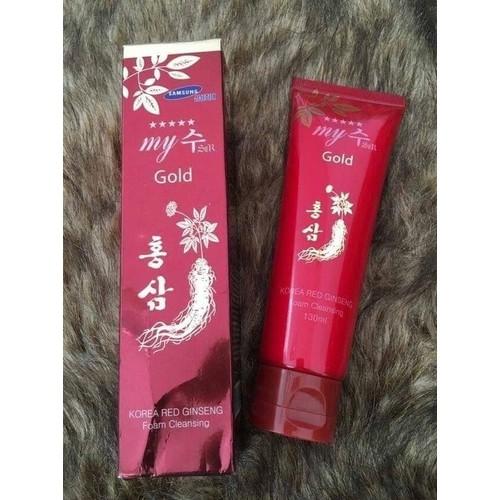 Sữa Rửa Mặt Sâm Đỏ My Gold - 4794194 , 18591208 , 15_18591208 , 100000 , Sua-Rua-Mat-Sam-Do-My-Gold-15_18591208 , sendo.vn , Sữa Rửa Mặt Sâm Đỏ My Gold