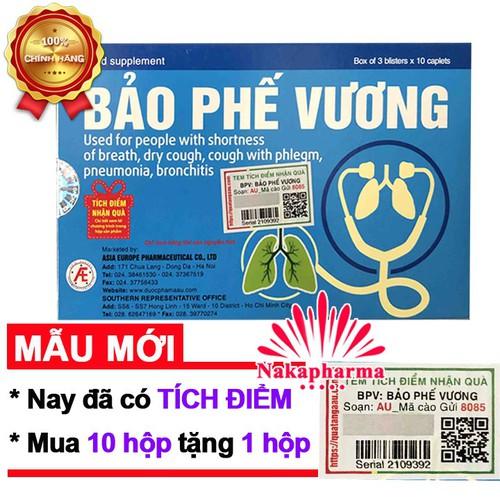✅ [10 TẶNG 1] Bảo Phế Vương  – Hỗ trợ giảm viêm phế quản, viêm phổi, thanh phế, giảm đờm, giảm ho khan, khó thở - 8959444 , 18587096 , 15_18587096 , 210000 , -10-TANG-1-Bao-Phe-Vuong-Ho-tro-giam-viem-phe-quan-viem-phoi-thanh-phe-giam-dom-giam-ho-khan-kho-tho-15_18587096 , sendo.vn , ✅ [10 TẶNG 1] Bảo Phế Vương  – Hỗ trợ giảm viêm phế quản, viêm phổi, thanh phế,