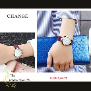 đồng hồ nữ dây da - đồng hồ nữ dây da Sm504 thumbnail