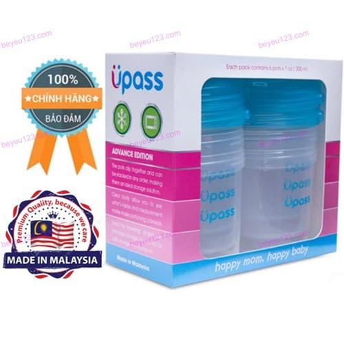 UPASS [Malaysia] - Hộp 06 hộp đựng sữa và thức ăn tiện lợi không BPA 2
