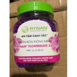 Phân bón RYNAN Thông minh tan chậm có kiểm soát NPK 12-12-20+TE- 150gr dùng giai đoạn ngủ nghỉ và ra hoa