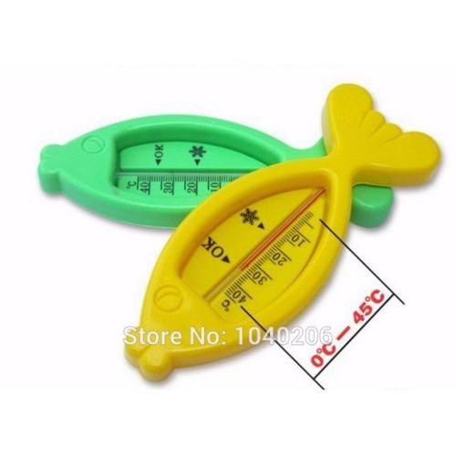 Nhiệt kế đo nước tắm hình cá