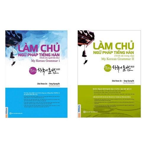 Sách - Combo 2 cuốn Làm Chủ Ngữ Pháp Tiếng Hàn Dành Cho Người Bắt Đầu Và Làm Chủ Ngữ Pháp Tiếng Hàn Trung Cấp - 8960984 , 18589702 , 15_18589702 , 325000 , Sach-Combo-2-cuon-Lam-Chu-Ngu-Phap-Tieng-Han-Danh-Cho-Nguoi-Bat-Dau-Va-Lam-Chu-Ngu-Phap-Tieng-Han-Trung-Cap-15_18589702 , sendo.vn , Sách - Combo 2 cuốn Làm Chủ Ngữ Pháp Tiếng Hàn Dành Cho Người Bắt Đầu Và Làm C