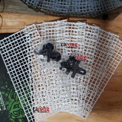COMBO:Vỉ lưới caro dùng làm vách ngăn bể cá, nắp đậy cho hồ cá rồng, giá thể trồng rêu và các loại cây thủy sinh - 4992461 , 18584997 , 15_18584997 , 145000 , COMBOVi-luoi-caro-dung-lam-vach-ngan-be-ca-nap-day-cho-ho-ca-rong-gia-the-trong-reu-va-cac-loai-cay-thuy-sinh-15_18584997 , sendo.vn , COMBO:Vỉ lưới caro dùng làm vách ngăn bể cá, nắp đậy cho hồ cá rồng, gi