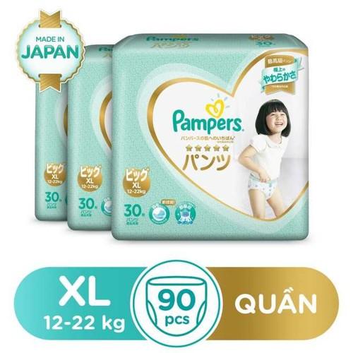 Tã quần-dán Pamper Nhật : Nb66-S60-M48..