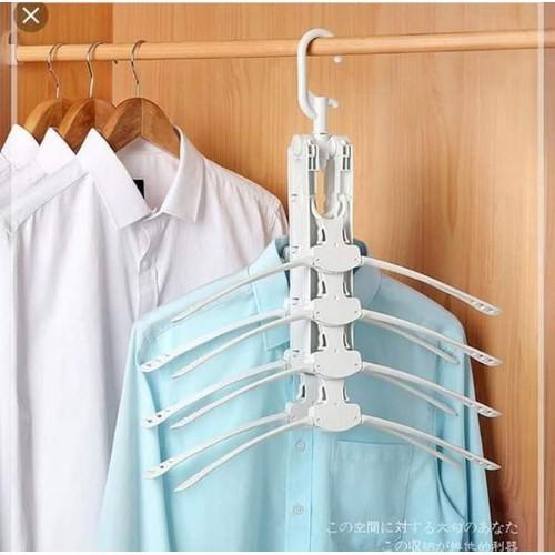 móc treo quần áo gấp gọn thông minh