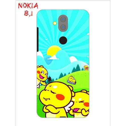 Ốp Lưng Nokia 8.1 Khủng Long Lai Ong Qoobee