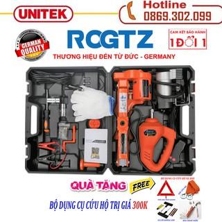 ROGTZ - Thương hiệu đến từ Đức Bộ kích và mở lốp 2 trong 1 chạy điện 12v - Con Đội Kích Lốp Nâng Gầm Xe Bằng Điện 12 Vol - Bộ kích gầm ô tô 12V 2 trong 1- Con Đội Điện Nâng Gầm xe hơi - Máy bắn ốc - Kích + bắn ốc + BỘ cứu hộ thumbnail