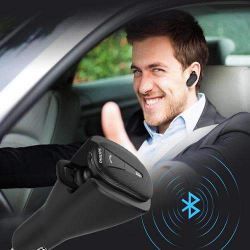 Tai nghe Bluetooth và bộ sạc xe hơi tích hợpSHB1801P