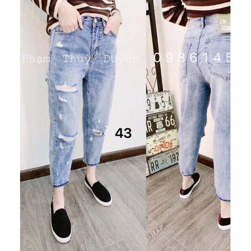 quần jeans baggy xinh
