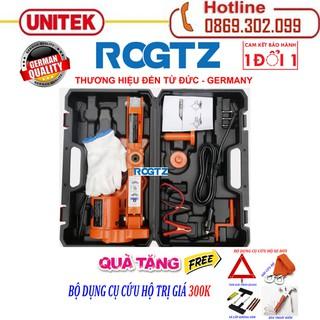 ROGTZ - Thương hiệu đến từ Đức Bộ kích nâng gầm xe chạy điện 12v - Con Đội Kích Lốp Nâng Gầm Xe Bằng Điện 12 Vol - Bộ kích gầm ô tô 12V - Con Đội Điện Nâng Gầm xe hơi - ROGTZ Chỉ Kích + bộ cứu hộ thumbnail