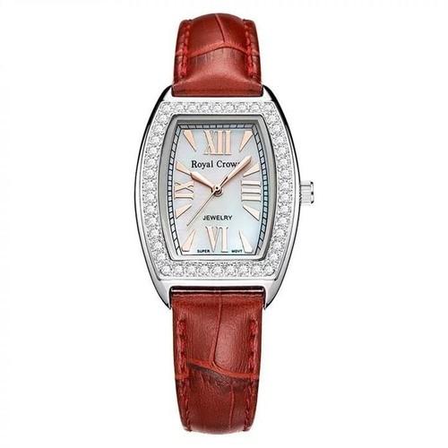 Đồng hồ nữ RC3635 dây da đỏ