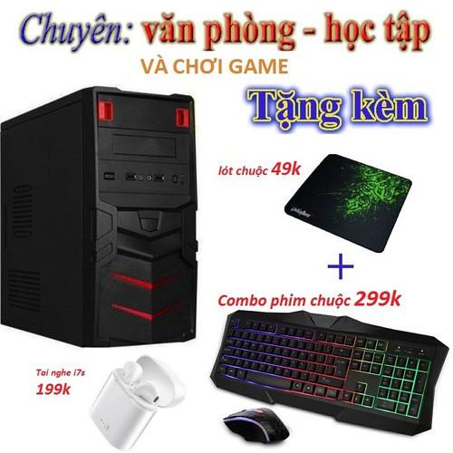 CPU - THÙNG CPU GIÁ MỀM LƯỚT GAME SIÊU MƯỢT