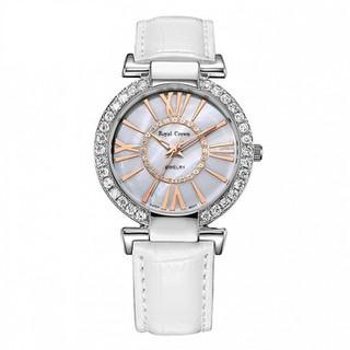 Đồng hồ nữ RC6116M dây da trắng - 6116-ST-W thumbnail