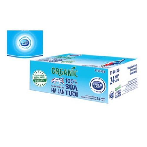 Thùng 24 hộp sữa tươi tiệt trùng Dutch Lady Organic 200ml Date 12-2019 - 8956332 , 18582854 , 15_18582854 , 312000 , Thung-24-hop-sua-tuoi-tiet-trung-Dutch-Lady-Organic-200ml-Date-12-2019-15_18582854 , sendo.vn , Thùng 24 hộp sữa tươi tiệt trùng Dutch Lady Organic 200ml Date 12-2019