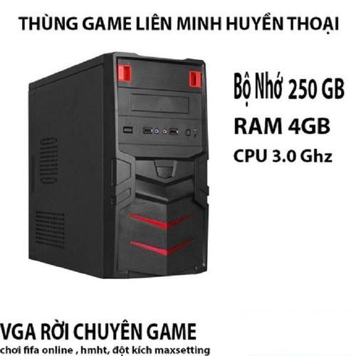 CPU - THÙNG CPU CHƠI GAME LIÊN MINH SIÊU MẠNH
