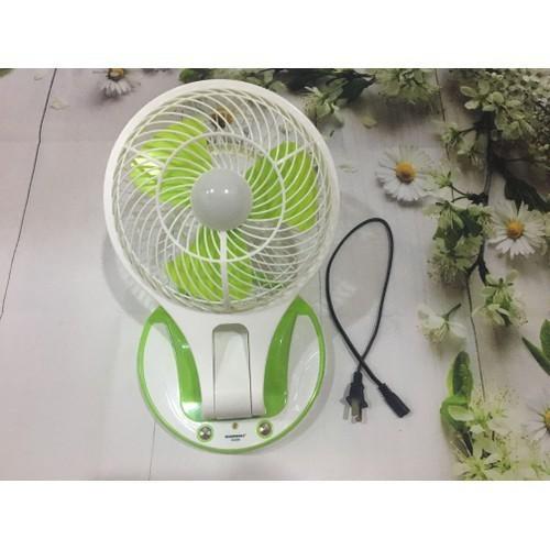 Quạt sạc tích điện có Led Mini fan HT-5580 - 4801899 , 18611117 , 15_18611117 , 150000 , Quat-sac-tich-dien-co-Led-Mini-fan-HT-5580-15_18611117 , sendo.vn , Quạt sạc tích điện có Led Mini fan HT-5580