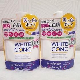 Sữa dưỡng thể White Conc CC Cream Vitamin C 200g Nhật Bản - 0090