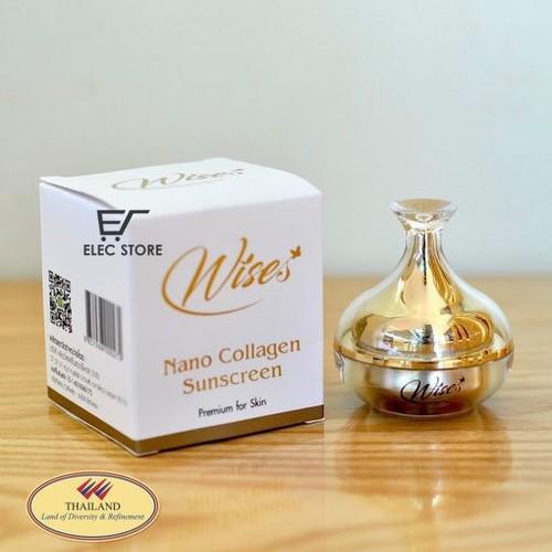 Kem Chống Nắng Wise Nano Collagen Sunscreen Thái Lan - 8977717 , 18617020 , 15_18617020 , 120000 , Kem-Chong-Nang-Wise-Nano-Collagen-Sunscreen-Thai-Lan-15_18617020 , sendo.vn , Kem Chống Nắng Wise Nano Collagen Sunscreen Thái Lan