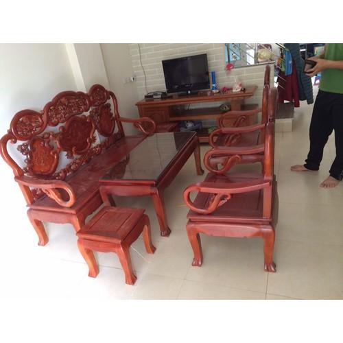 Bộ Bàn Ghế Guột Gỗ Gụ Lào