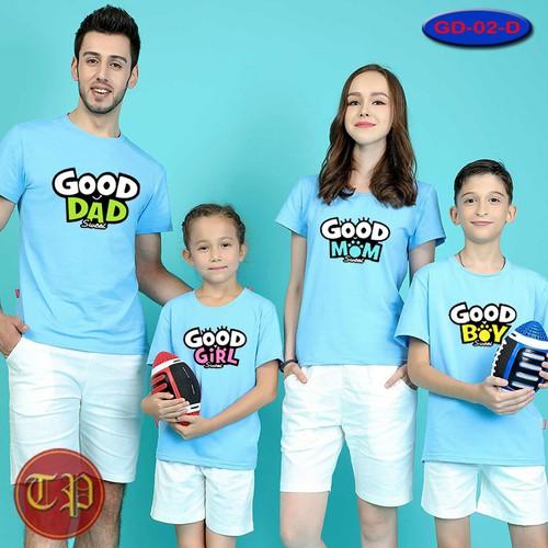 Combo 4 áo thun gia đình GD - 08