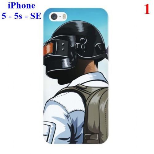 Ốp lưng iPhone 5 - 5s - SE hình Game Sinh tồn PUBG