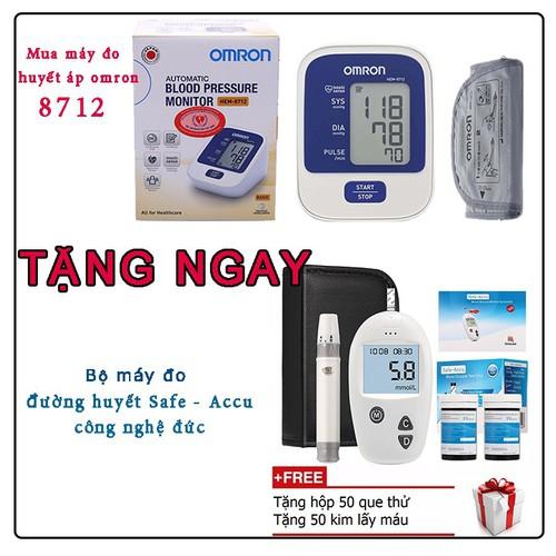 HUYẾT Áp OMRON HEM- 8712- Tặng 1 bộ máy đo đường huyết Safe Accu - 8974128 , 18611372 , 15_18611372 , 800000 , HUYET-Ap-OMRON-HEM-8712-Tang-1-bo-may-do-duong-huyet-Safe-Accu-15_18611372 , sendo.vn , HUYẾT Áp OMRON HEM- 8712- Tặng 1 bộ máy đo đường huyết Safe Accu