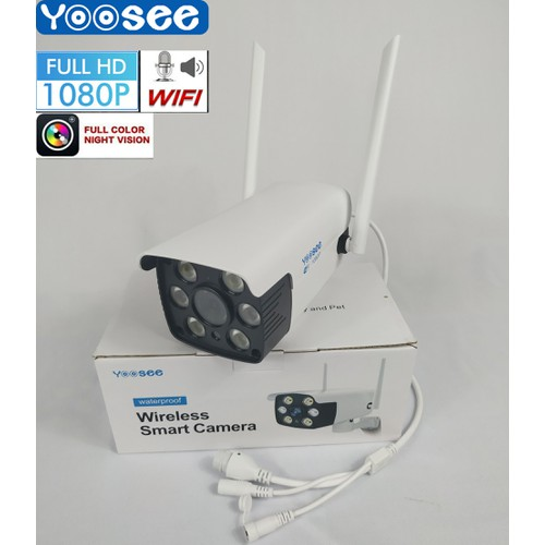 Camera WIFI YOOSEE Ngoài trời 2M - Full HD 1080P - QUAY ĐÊM CÓ MÀU - 4801564 , 18610192 , 15_18610192 , 900000 , Camera-WIFI-YOOSEE-Ngoai-troi-2M-Full-HD-1080P-QUAY-DEM-CO-MAU-15_18610192 , sendo.vn , Camera WIFI YOOSEE Ngoài trời 2M - Full HD 1080P - QUAY ĐÊM CÓ MÀU
