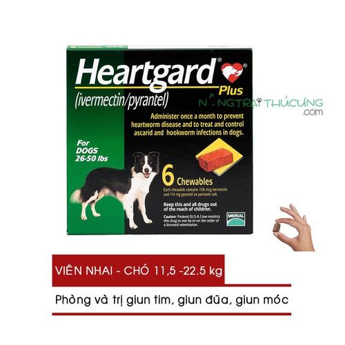 Sổ giun cho mèo - heartgard