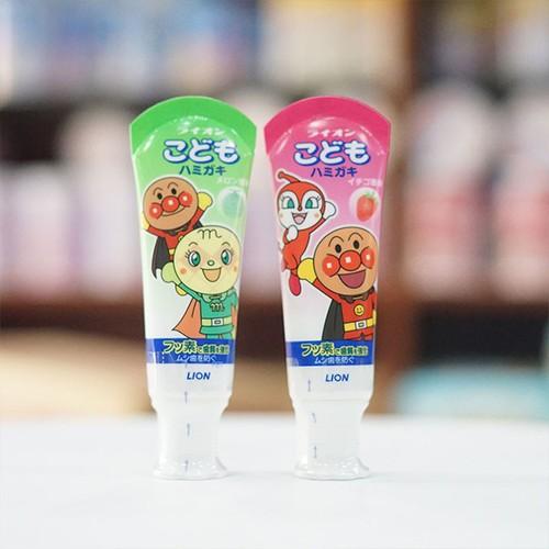 Kem đánh răng trẻ em Lion 40g Nhật Bản