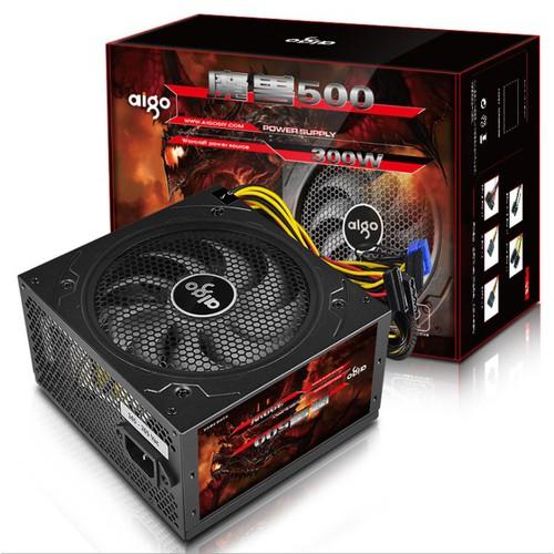 Nguồn máy tính Aigo 500W CST Có nguồn phụ 8Pin