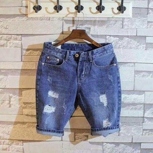 Quần shorts jeans nam trẻ trung
