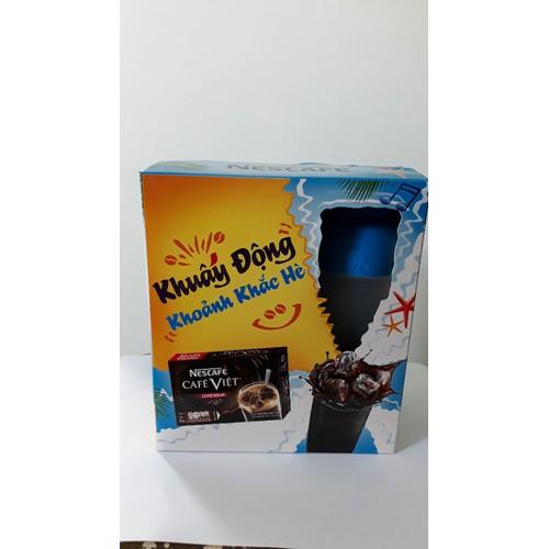 Cafe việt hộp đen hòa tan 15 gói tặng bình lắc - 4800923 , 18607943 , 15_18607943 , 53000 , Cafe-viet-hop-den-hoa-tan-15-goi-tang-binh-lac-15_18607943 , sendo.vn , Cafe việt hộp đen hòa tan 15 gói tặng bình lắc