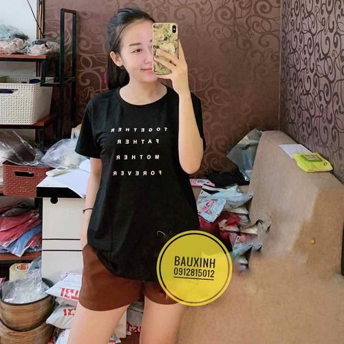 áo phông bầu thời trang chất mát