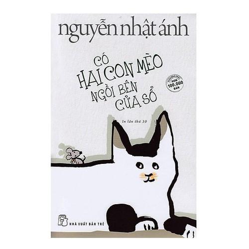 Sách - Có Hai Con Mèo Ngồi Bên Cửa Sổ