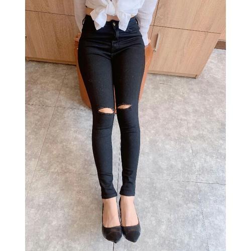 quần jeans dài lạ mắt