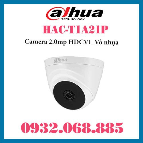 Camera HDCVI HAC-T1A21P 2.0mp