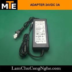 Nguồn adapter 24V 3A jack DC 5.5 * 2.1 mm