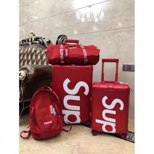 Vali kéo Supreme sang trọng màu đỏ tươi cực đẹp - 8968722 , 18602410 , 15_18602410 , 880080 , Vali-keo-Supreme-sang-trong-mau-do-tuoi-cuc-dep-15_18602410 , sendo.vn , Vali kéo Supreme sang trọng màu đỏ tươi cực đẹp