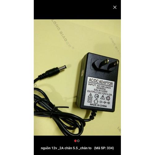 nguồn adapter 12v - 2a chân kim jac 3