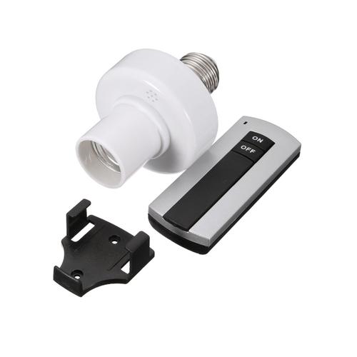 Đui đèn điều khiển từ xa E27 kèm Remote - 4799678 , 18601526 , 15_18601526 , 160000 , Dui-den-dieu-khien-tu-xa-E27-kem-Remote-15_18601526 , sendo.vn , Đui đèn điều khiển từ xa E27 kèm Remote