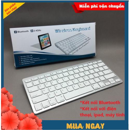 Bàn Phím Bluetooth Mini Dùng Được Với Tất Cả Thiết Bị Điện Thoại, Máy Tính Chỉ cần có kết nối bluetooth là dùng được - 4996190 , 18618991 , 15_18618991 , 500000 , Ban-Phim-Bluetooth-Mini-Dung-Duoc-Voi-Tat-Ca-Thiet-Bi-Dien-Thoai-May-Tinh-Chi-can-co-ket-noi-bluetooth-la-dung-duoc-15_18618991 , sendo.vn , Bàn Phím Bluetooth Mini Dùng Được Với Tất Cả Thiết Bị Điện Thoại, Máy